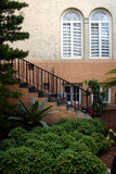 городские окна лестницы Лейкленда сада florida стоковая фотография