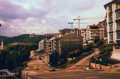 Городские пейзажи: новое здание в Анкаре Стоковое Изображение RF