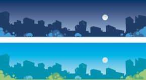городские пейзажи Стоковые Фотографии RF