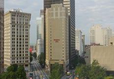 Городское Атлант, Georgia, США Стоковая Фотография RF