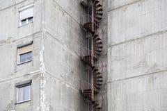 Городское бетонное здание стоковое фото rf