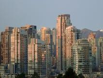 Городское Ванкувер, BC Стоковые Изображения
