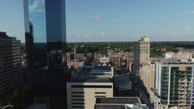 Городское видео трутня Lexington Кентукки 4K видеоматериал