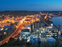 городское крыло красного цвета Минесоты стоковые фото