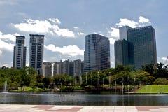 городское Куала Лумпур Стоковое Изображение