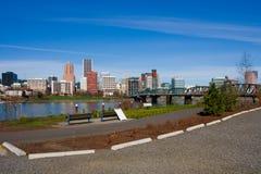 городское положение Орегона portland стоковое изображение rf
