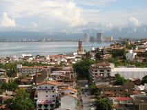 городское vallarta puerto стоковые фотографии rf