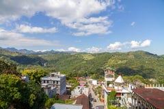 Городское Xilitla, San Luis Potosi - Мексика Стоковое фото RF