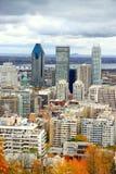 городской взгляд montreal Стоковое Фото