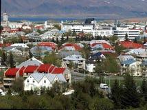 городской взгляд reykjavik стоковые фото