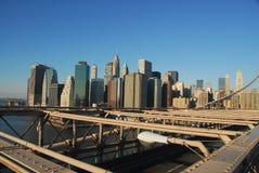 городской горизонт nyc Стоковые Изображения RF