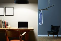 Городской дизайн интерьера офиса Стоковое фото RF