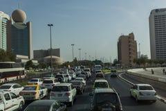 городской Дубай Стоковая Фотография RF