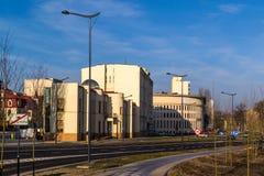 Городской ландшафт на примере города Лодза, Польши Стоковое Изображение