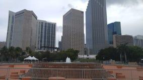 Городской Майами Флорида США Стоковая Фотография