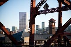 городской Орегон portland Стоковая Фотография