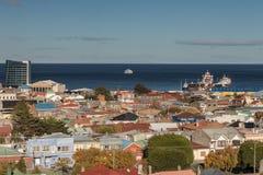 Городской пейзаж арен Punta стоковые изображения