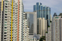 Городской пейзаж Бангкока, Таиланда Стоковые Фотографии RF