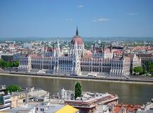 городской пейзаж Венгрия budapest Стоковая Фотография