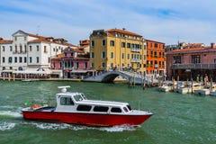 Городской пейзаж Венеции - Италия Стоковое Изображение RF