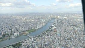 Городской пейзаж города Токио видеоматериал