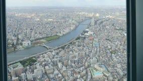 Городской пейзаж города Токио акции видеоматериалы