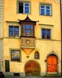 Городской пейзаж городка Lindau Schwarzwald Германии Стоковое Фото