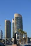 городской пейзаж Дубай Стоковые Изображения