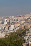 городской пейзаж Иордан amman Стоковая Фотография RF