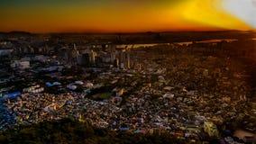 Городской пейзаж Корея Сеула Стоковая Фотография
