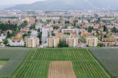 Городской пейзаж Марибора, Словении стоковая фотография