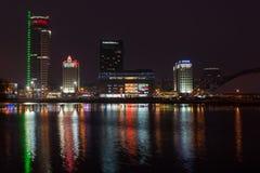 Городской пейзаж Минска стоковая фотография
