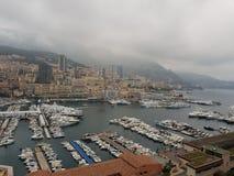 Городской пейзаж Монако Стоковые Фотографии RF