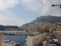 Городской пейзаж Монако Стоковая Фотография