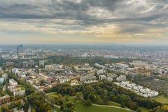 Городской пейзаж Мюнхена Стоковая Фотография