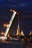 Городской пейзаж ночи Стоковые Изображения RF