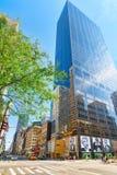 Городской городской пейзаж Нью-Йорка Район центра города США Стоковое фото RF
