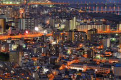 Городской пейзаж Осака Стоковое Фото