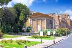 Городской пейзаж Рим, Италии стоковое фото