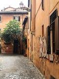 Городской пейзаж Рим стоковое фото