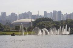 Городской пейзаж Сан-Паулу стоковые фотографии rf