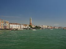 Городской пейзаж Сан Marco, Венеции, Италии Стоковая Фотография RF