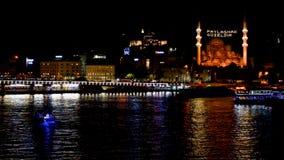 Городской пейзаж Стамбула акции видеоматериалы