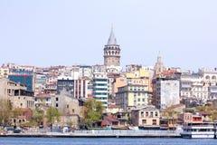Городской пейзаж, Стамбул, Турция Стоковое Фото