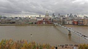 Городской пейзаж Темза Лондона стоковое фото rf