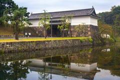 Городской пейзаж токио с осенним парком Стоковые Фото