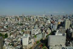 Городской пейзаж токио, Японии Стоковые Фотографии RF