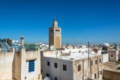Городской пейзаж Туниса, Туниса стоковое фото rf