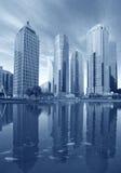 Городской пейзаж Шанхая Пудуна стоковое фото rf