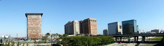 городской пейзаж boston стоковое изображение rf